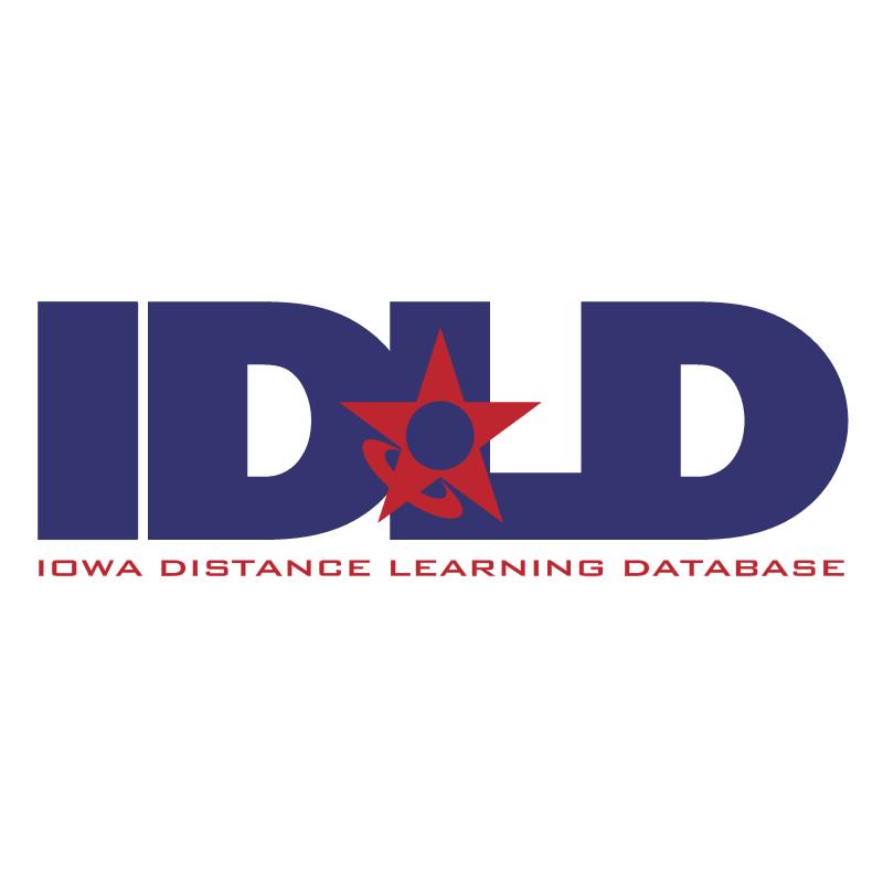 Iowa Distance Learning Database vector logo