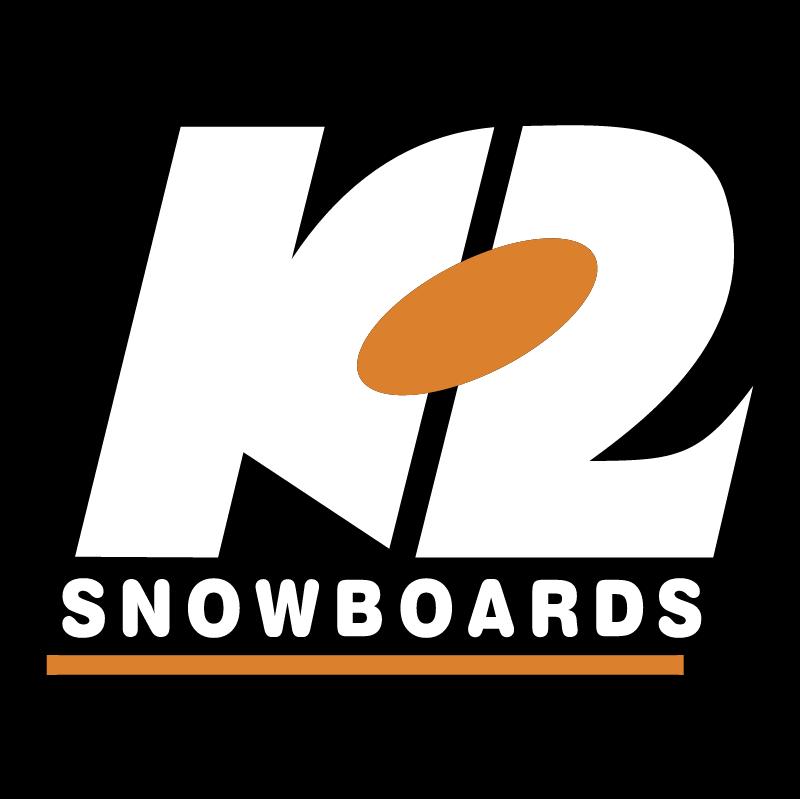 K2 Snowboards vector