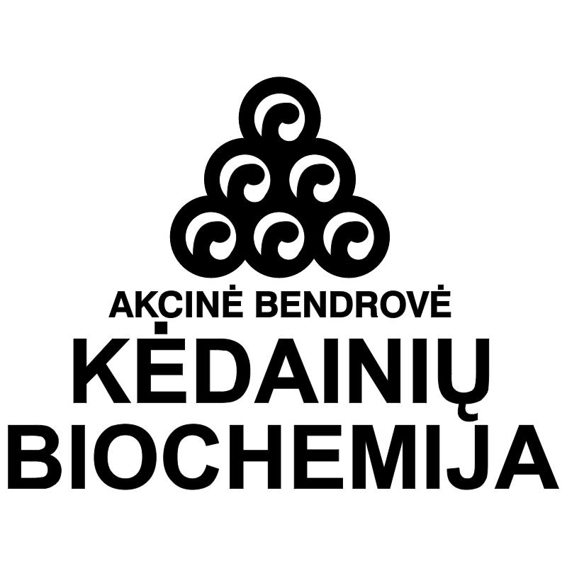 Kedainiu Biochemija vector logo