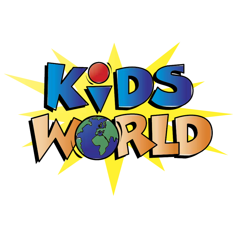 Kids World vector logo