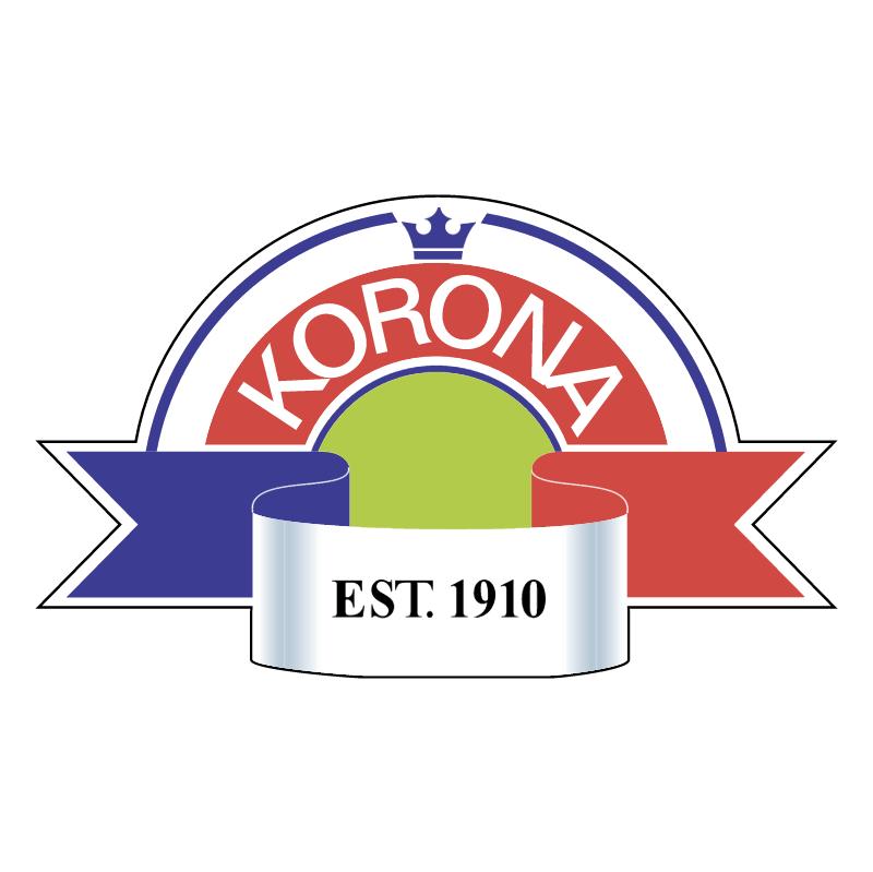 Korona vector logo
