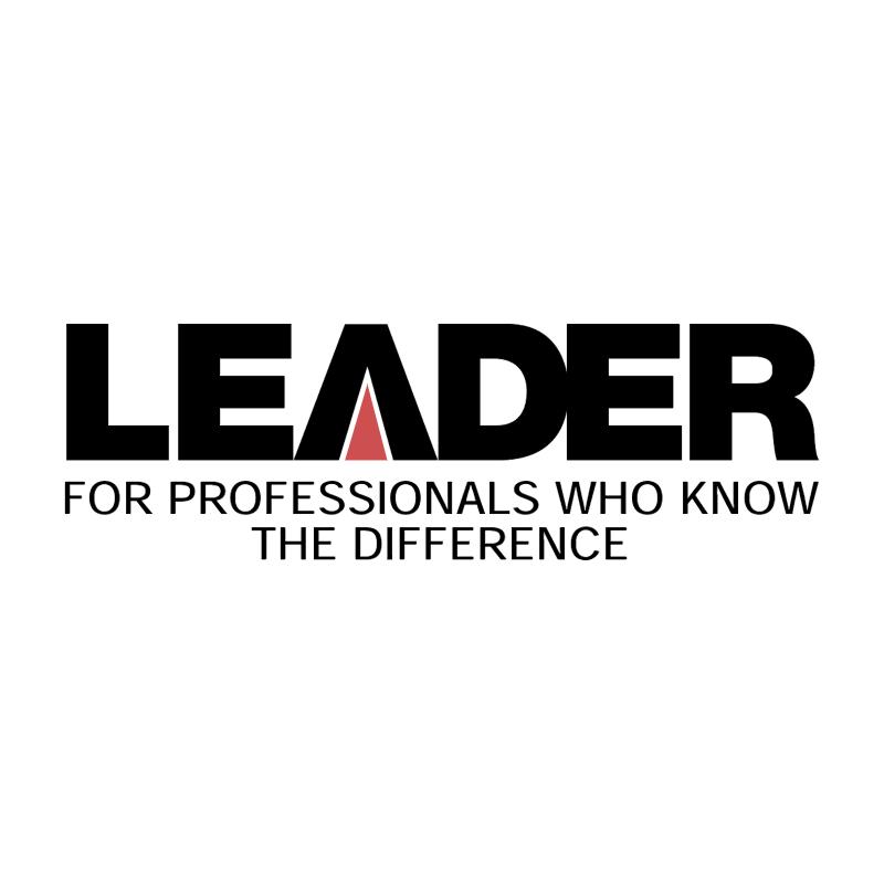 Leader vector logo