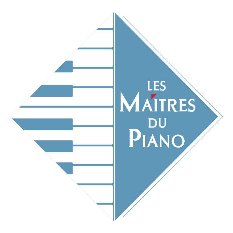 Les Maitres du Piano vector