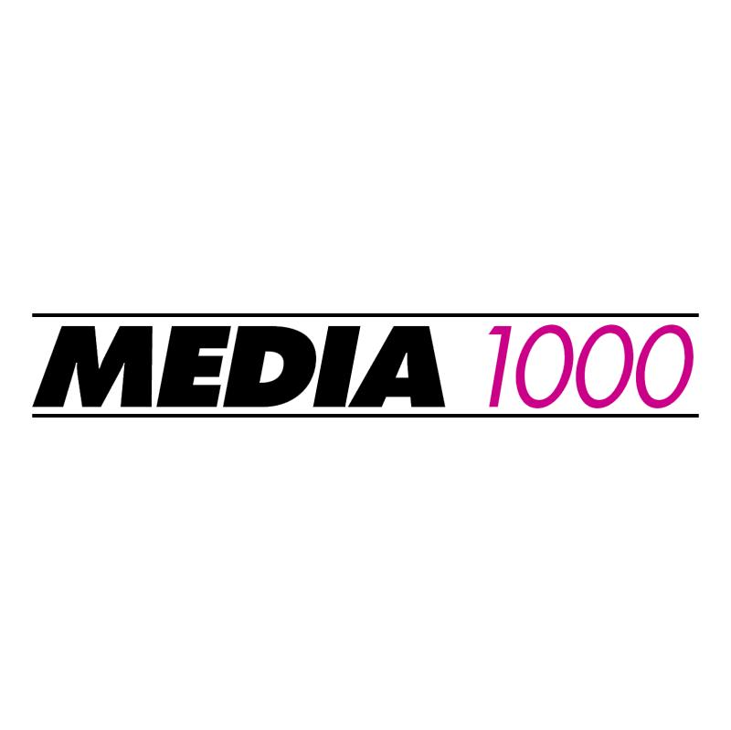 Media 1000 vector