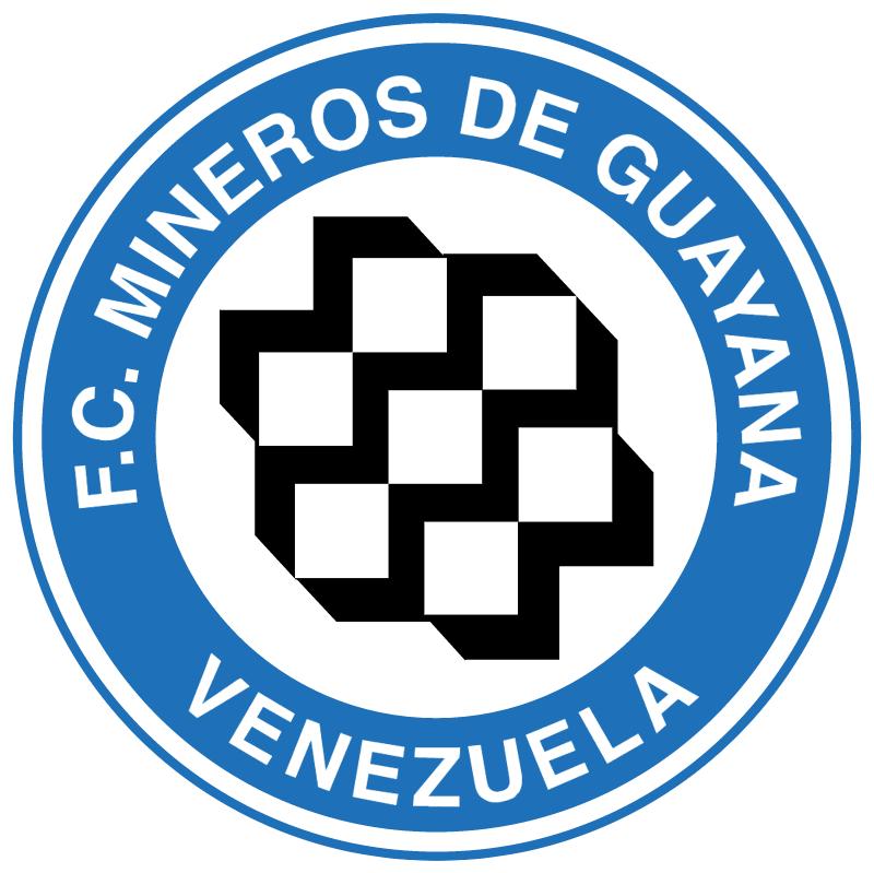 Mineros de Guyana vector