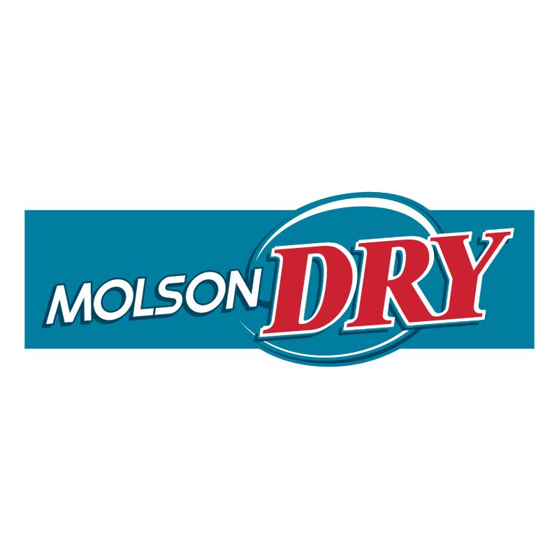 Molson Dry vector