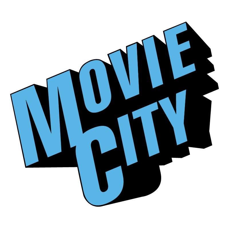 Movie City vector