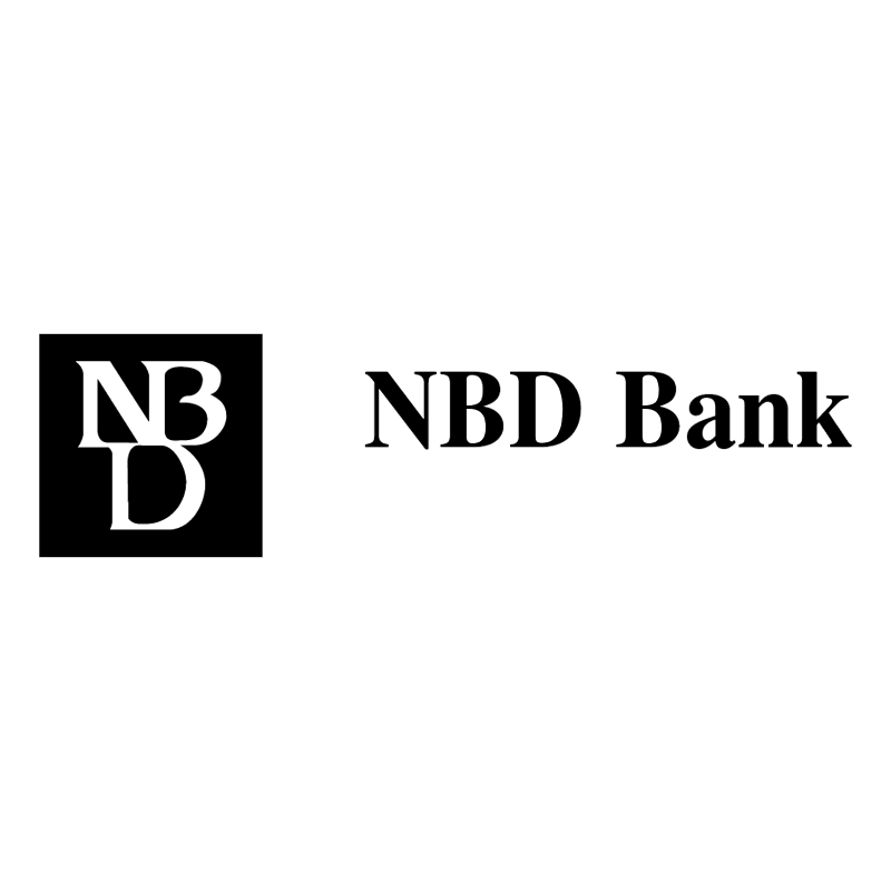 NBD Bank vector
