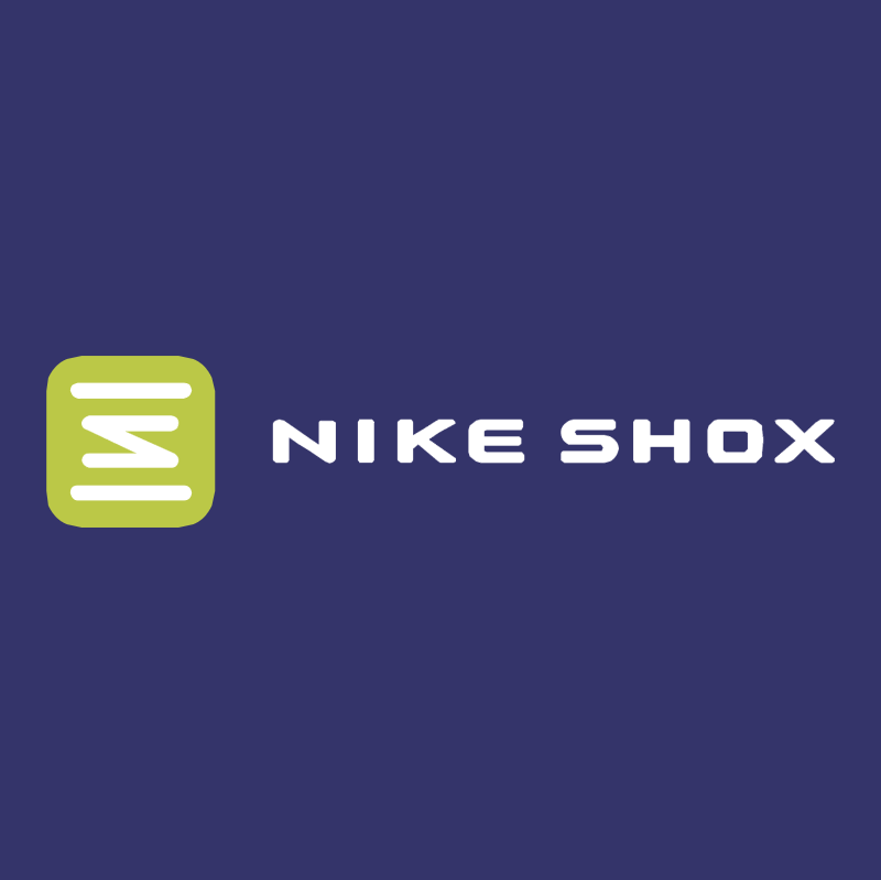 Nike Shox vector