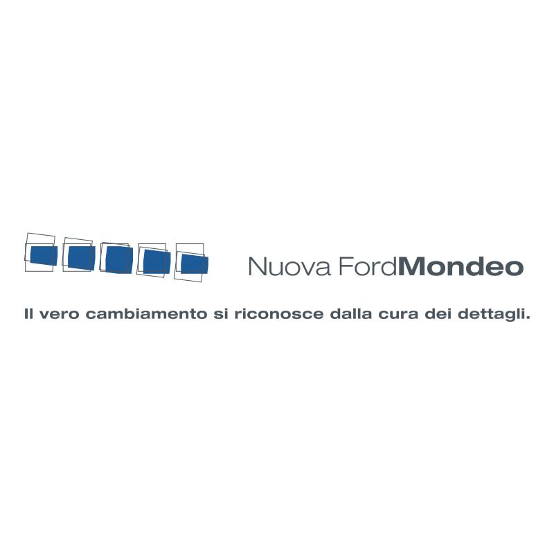 Nuova Ford Mondeo vector