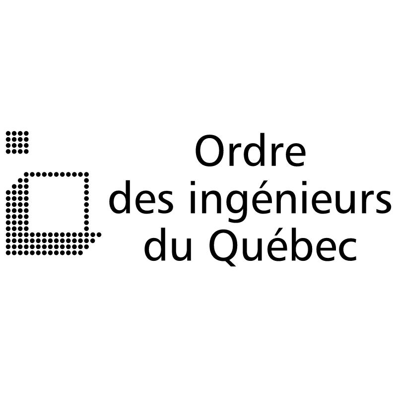 Ordre des ingenieurs du Quebec vector