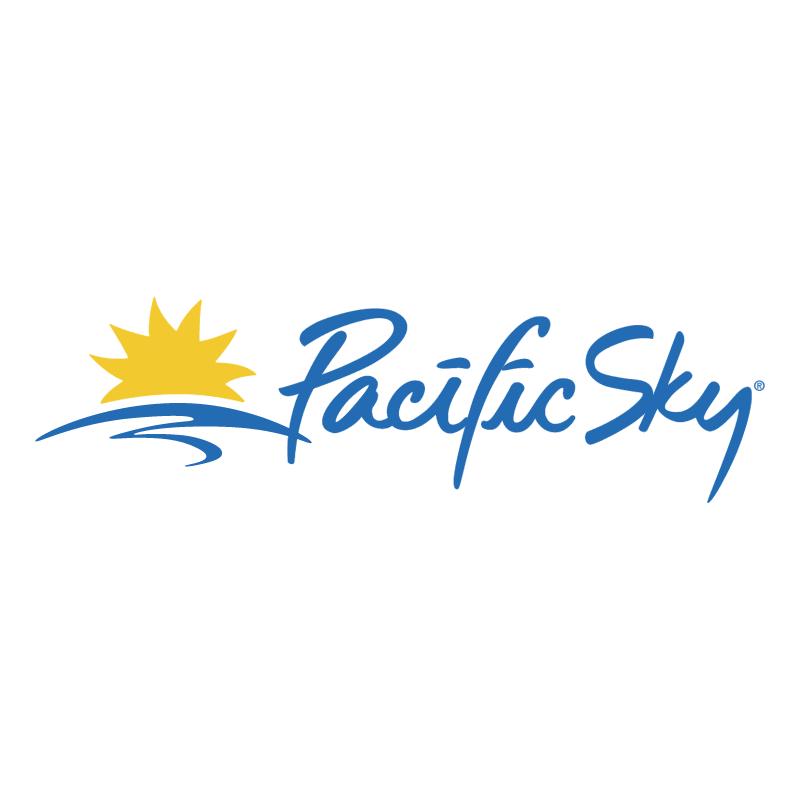 Pacific Sky vector logo