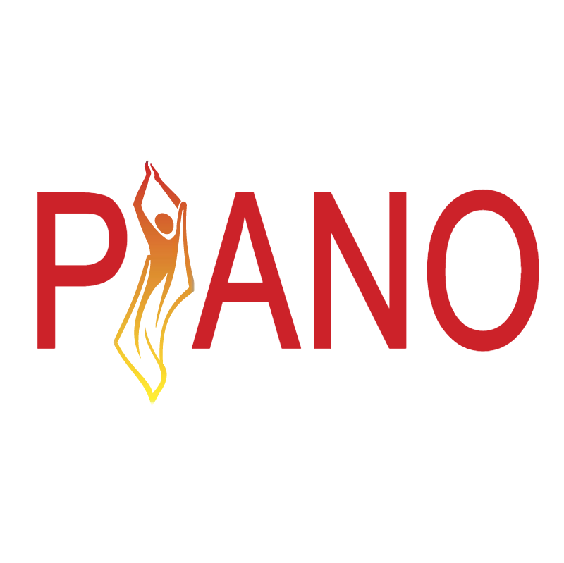 Piano vector logo