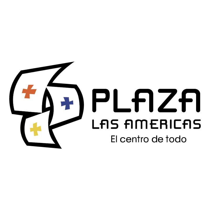 Plaza Las Americas vector