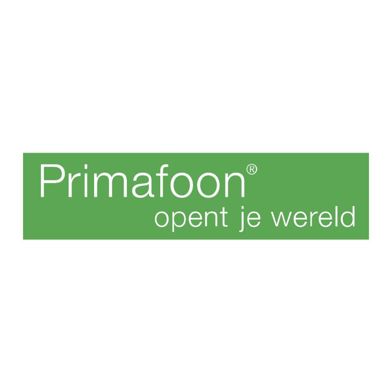 Primafoon vector