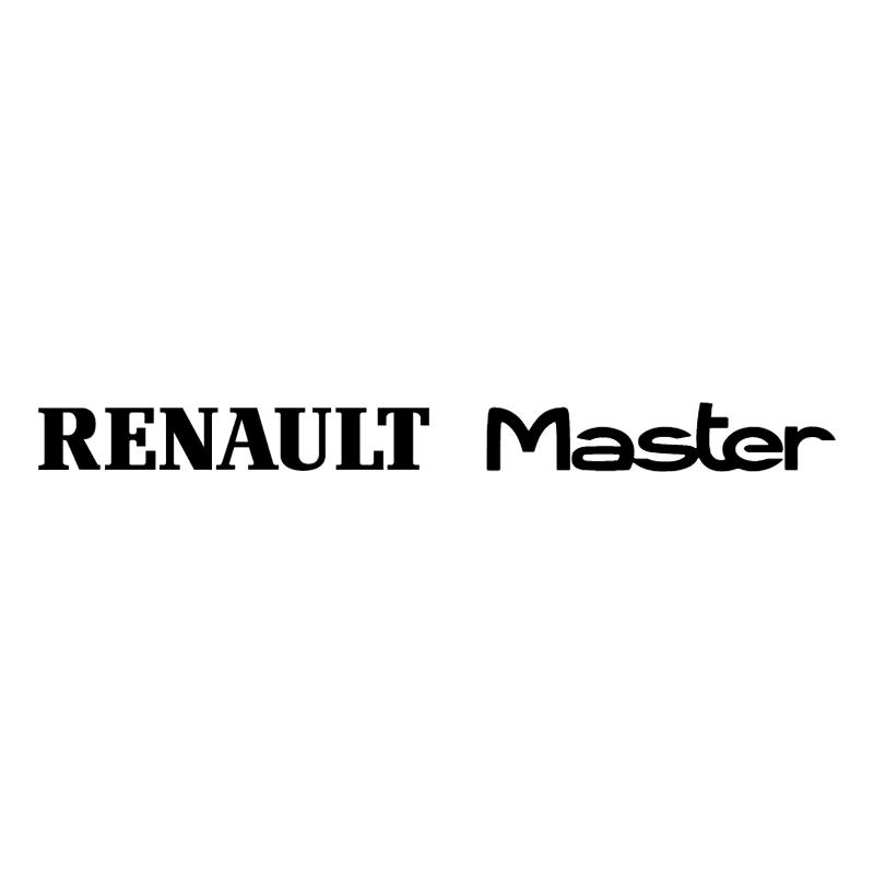 Renault Master vector logo