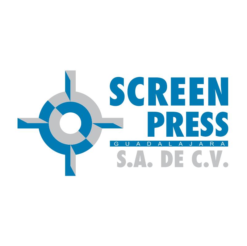 Screen Press vector