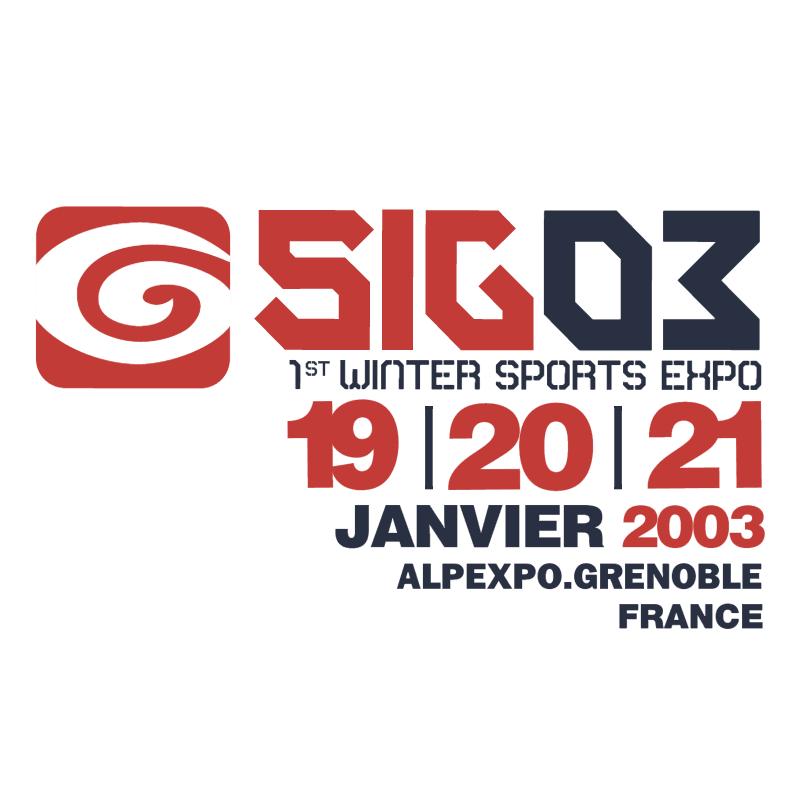 SIG 2003 vector