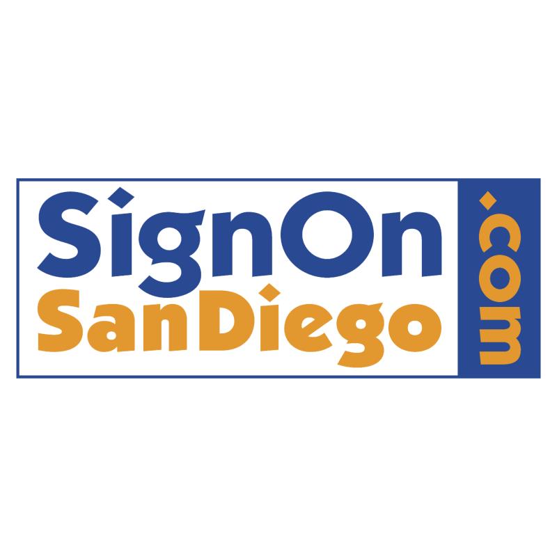SignOn San Diego vector