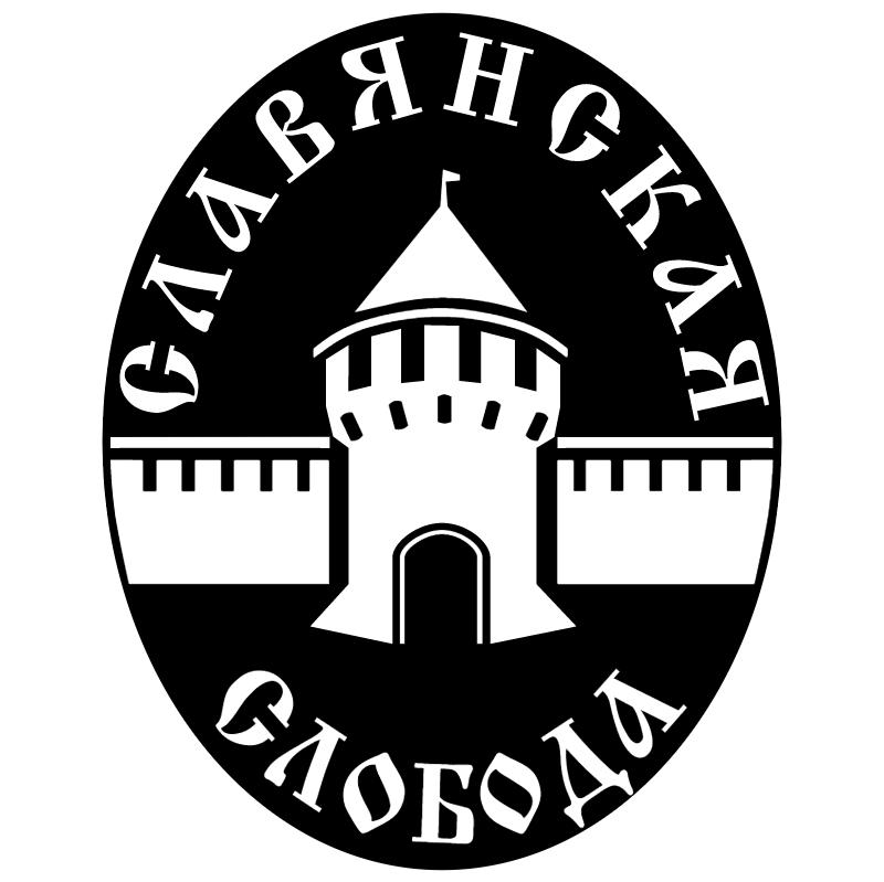 Slavyanskaya Sloboda vector