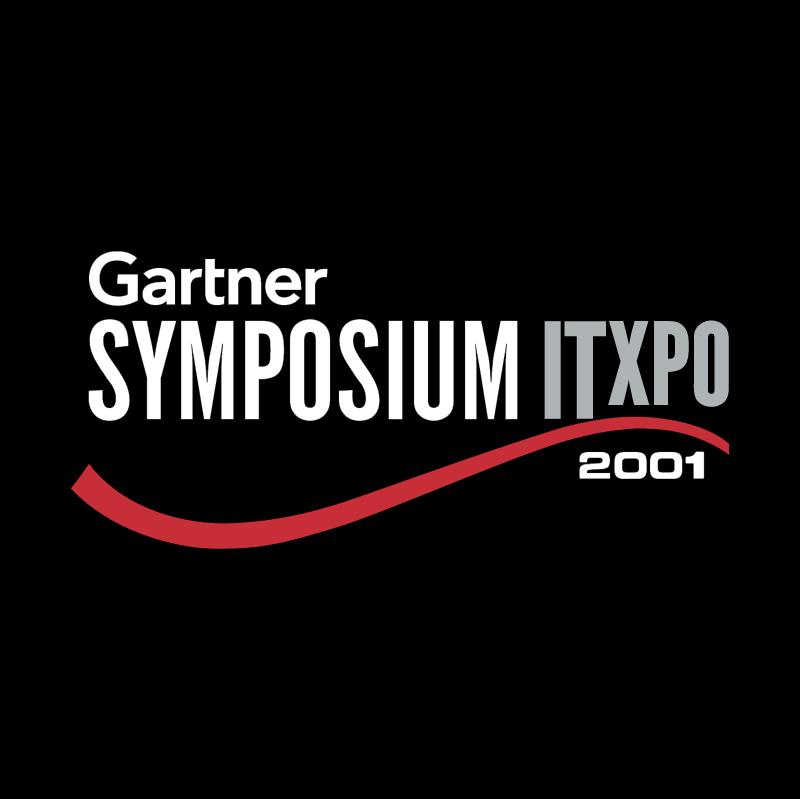 Symposium ITxpo 2001 vector logo