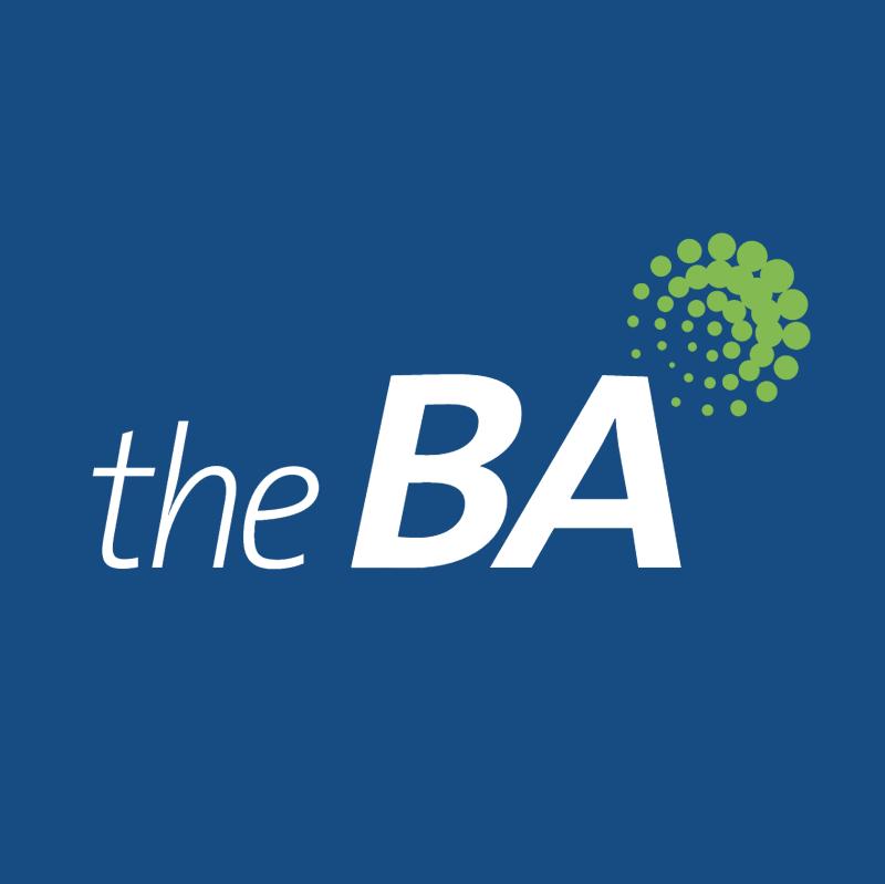 The BA vector logo