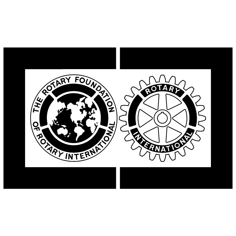 The Rotary Foundation vector logo