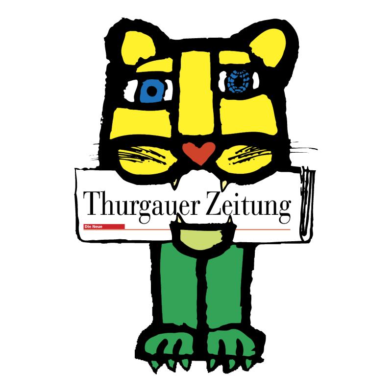 Thurgauer Zeitung vector