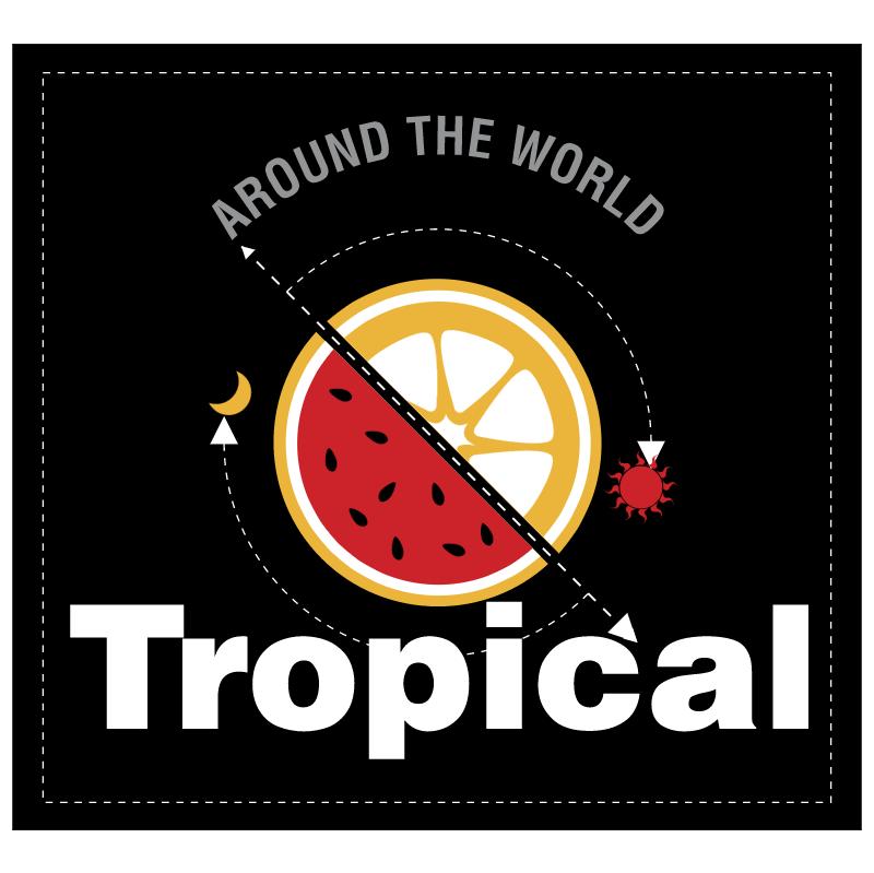 Tropical vector logo