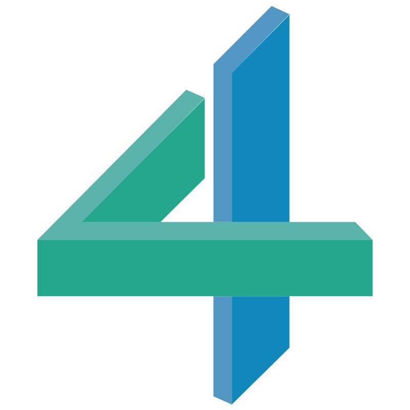 TV4 New Zealand vector