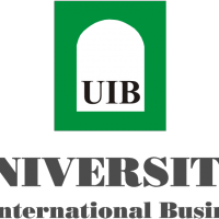 UIB University of International Business vector