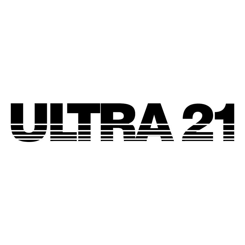 Ultra 21 vector logo