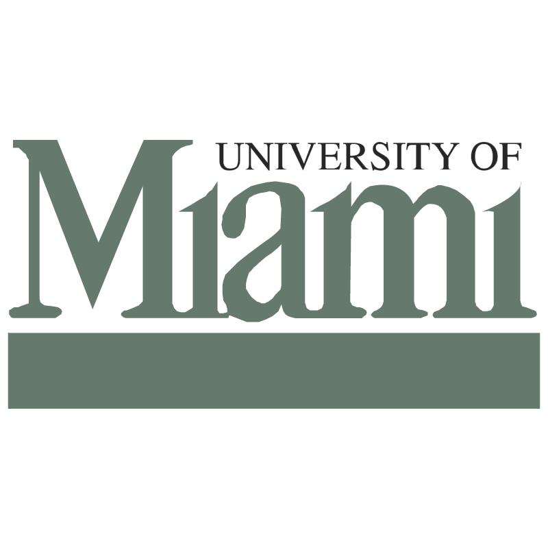 University Of Miami vector logo