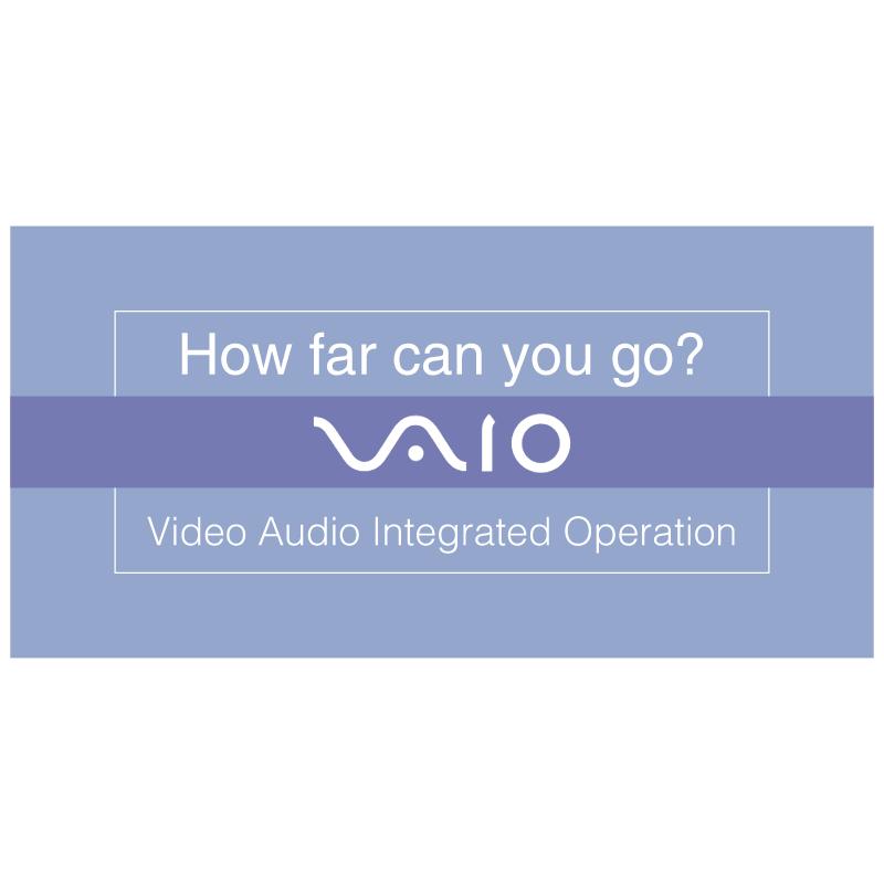 Vaio How far can you go vector