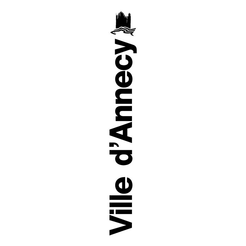Ville d'Annecy vector