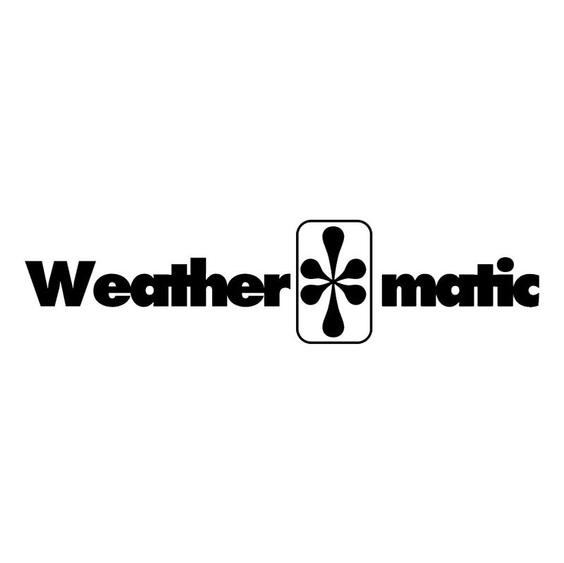 Weathermatic vector logo