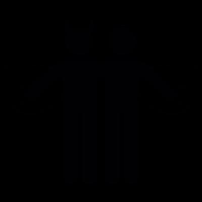 Angel and demon vector logo