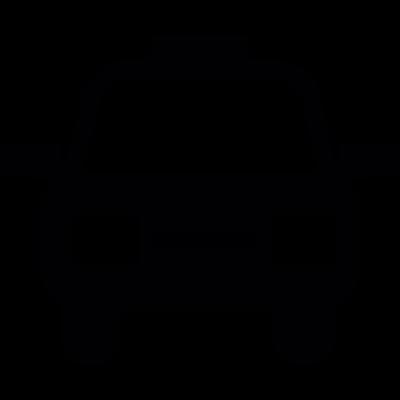 Frontal cab vector logo
