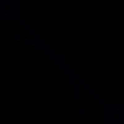Anchor point, IOS 7 symbol vector logo
