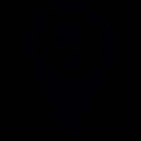 Wifi Pin vector