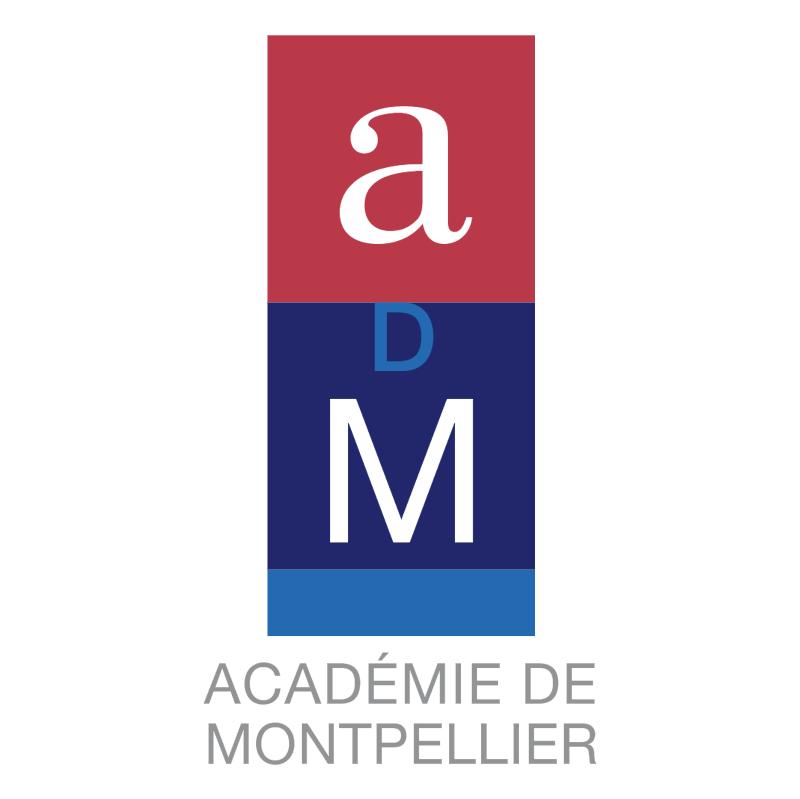 Academie de Montpellier 51900 vector