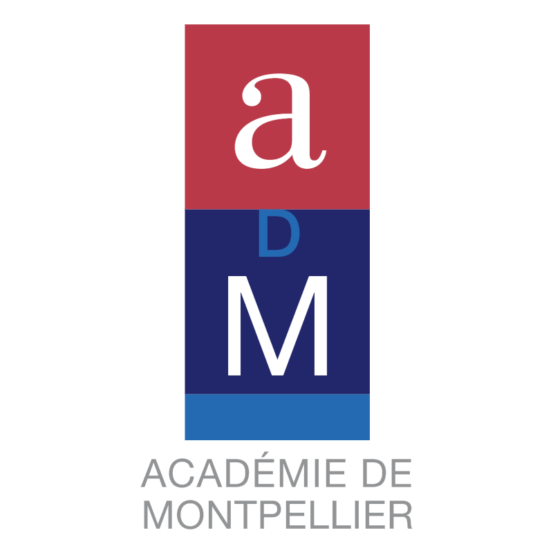 Academie de Montpellier 51900 vector logo
