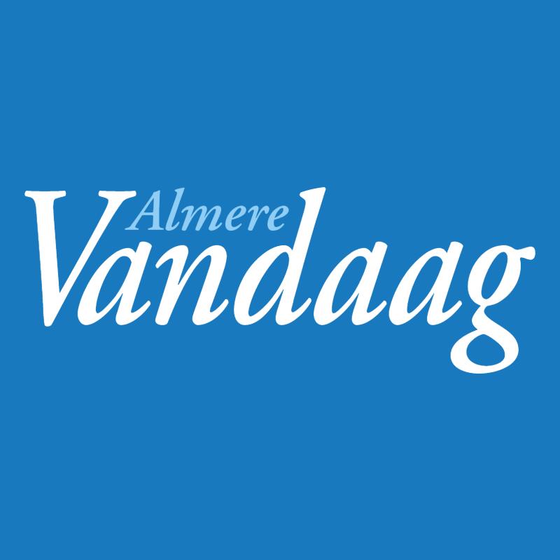 Almere Vandaag vector