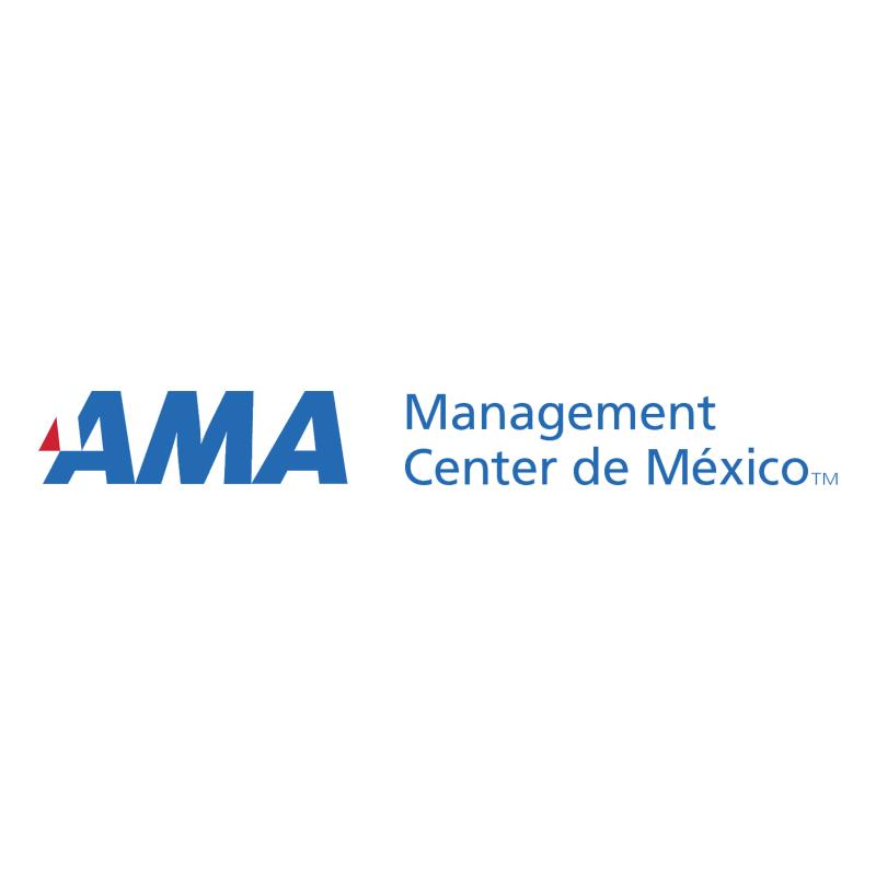 AMA Management Center de Mexico vector