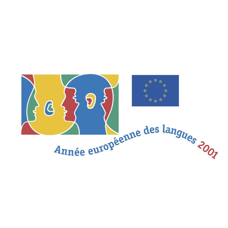 Annee europeenne des langues 40342 vector