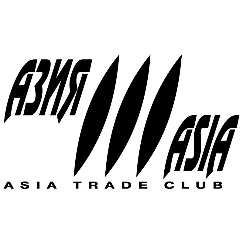 Asia Trade Club vector