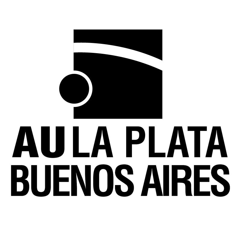 Au La Plata Buenos Aires vector