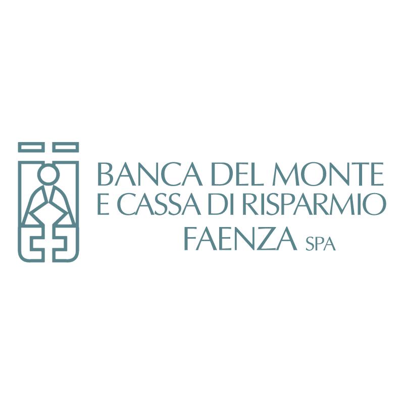 Banca del Monte e Cassa di Risparmio Faenza 82463 vector