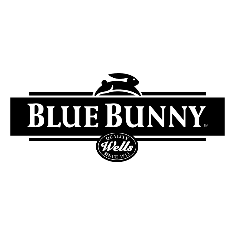 Blue Bunny vector