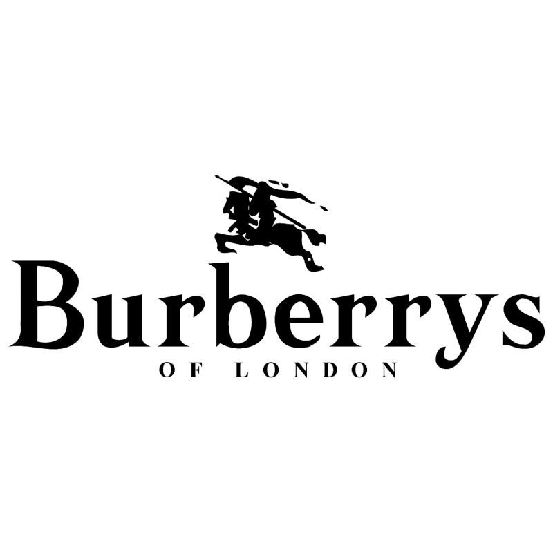 Burberrys of London vector